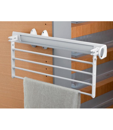 Cestello estraibile pieghevole portacravatte/gonne/pantaloni Self System Servetto