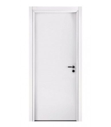 Pail ALISEA LN white interior door decorated with blockboard wood STANDARD frame