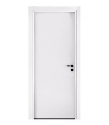 Pail ALISEA LN white interior door decorated with blockboard wood ...