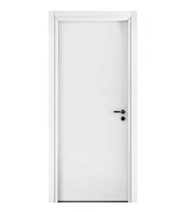 Porta pail alisea ln bianco interna in decorato con telaio standard in legno listellare - Telaio porta interna ...