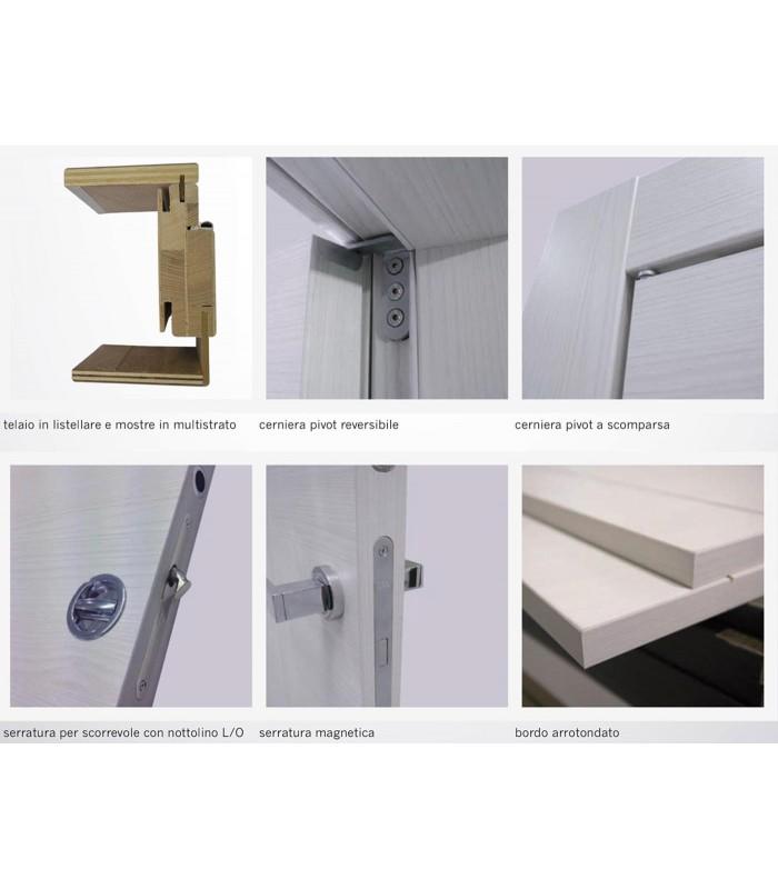 Porta Pail PIANETA 2 interna laccata pantografata con telaio EVO in ...