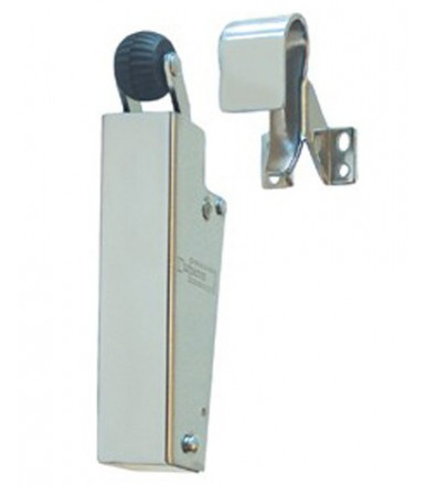DICTATOR Door Check V 1600 hook 1009 polished chrome