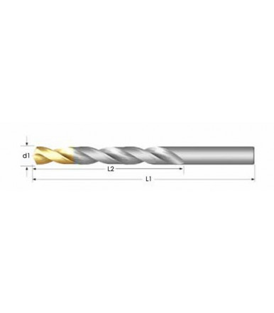 Dormer Pramet HSS TIN drill bit for drilling