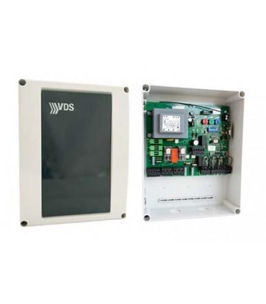 Apparecchiatura di comando per cancelli a battente con ricevente e antenna incorporata EURO 230v m2 VDS