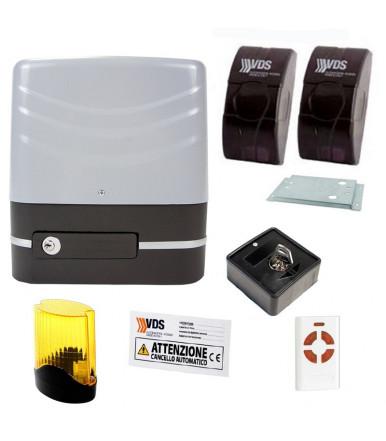 Kit SIMPLY per cancelli scorrevoli 230v peso anta max 600kg VDS