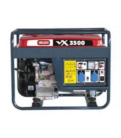 Generatore 4 tempi OHV 3,5 kW Valex Linea Rossa VX3500