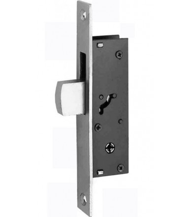 Mortice lock tipping bolt and cylinder for aluminum doors and windows 303 K