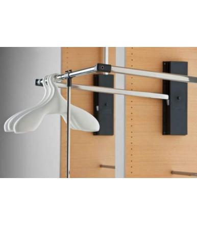 Appendiabito saliscendi per armadio Servetto professional cm 87-119