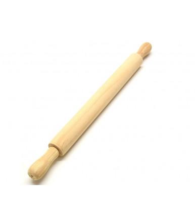 Mattarello liscio in legno di faggio artigianato abruzzese