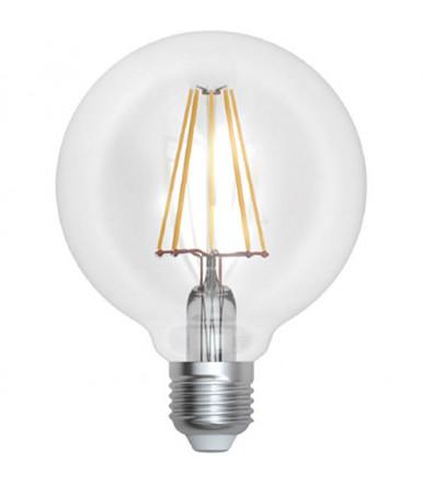 SkyLighting - transparent globe LED lamp - 10W E27 3000K Series Filament Led