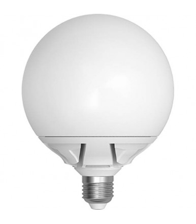 Lampadina globo opalina LED - 25W E27 4200K Serie Official Led SkyLighting