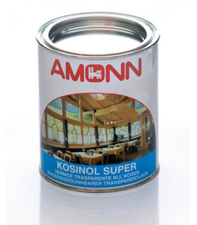 Transparent water-based paint for wood Amonn Kosinol Super 0,750l