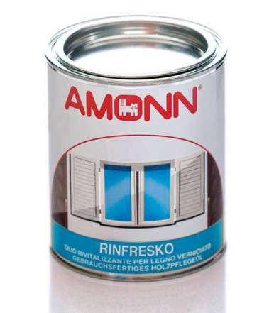 Water based revitalizing oil for painted wood Rinfresko Amonn from 0.750