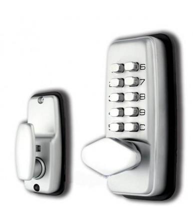 Waterproof digital mechanical lock for doors with combination