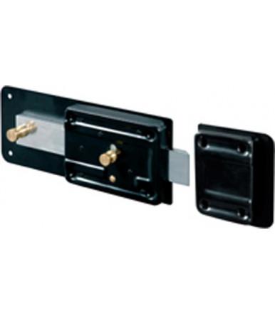 Ferroglietto Linea Standard con cilindro staccato e catenaccio e scrocco incorporato Viro