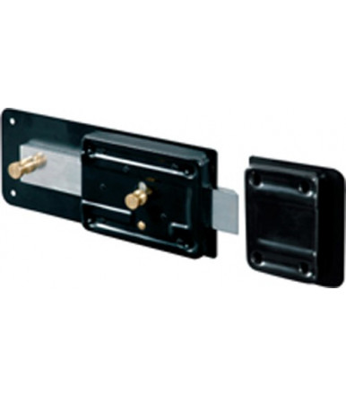 Viro lock Standard Line with detached cylinder deadbolt and latch built