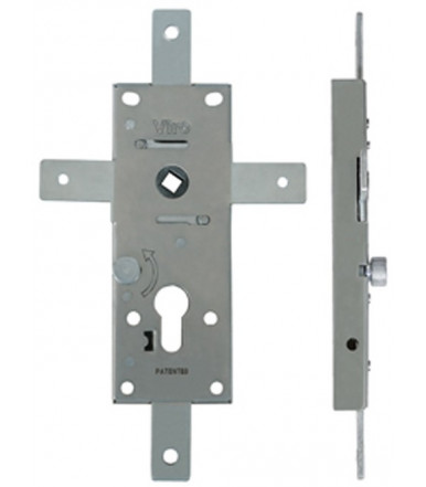 Viro Multipoint armoured locks for up and over doors with 60 mm centre