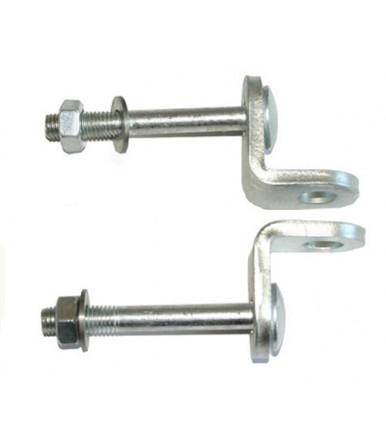 Viro fixed hasps for armoured padlocks